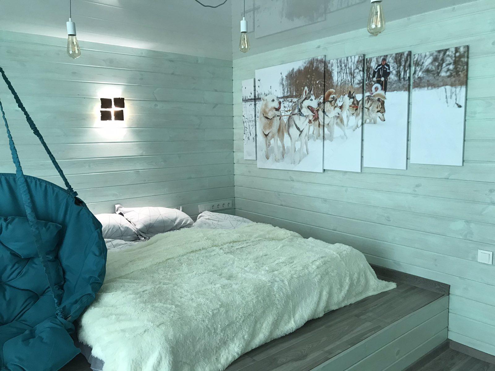 Будинок Каюра : південна спальня